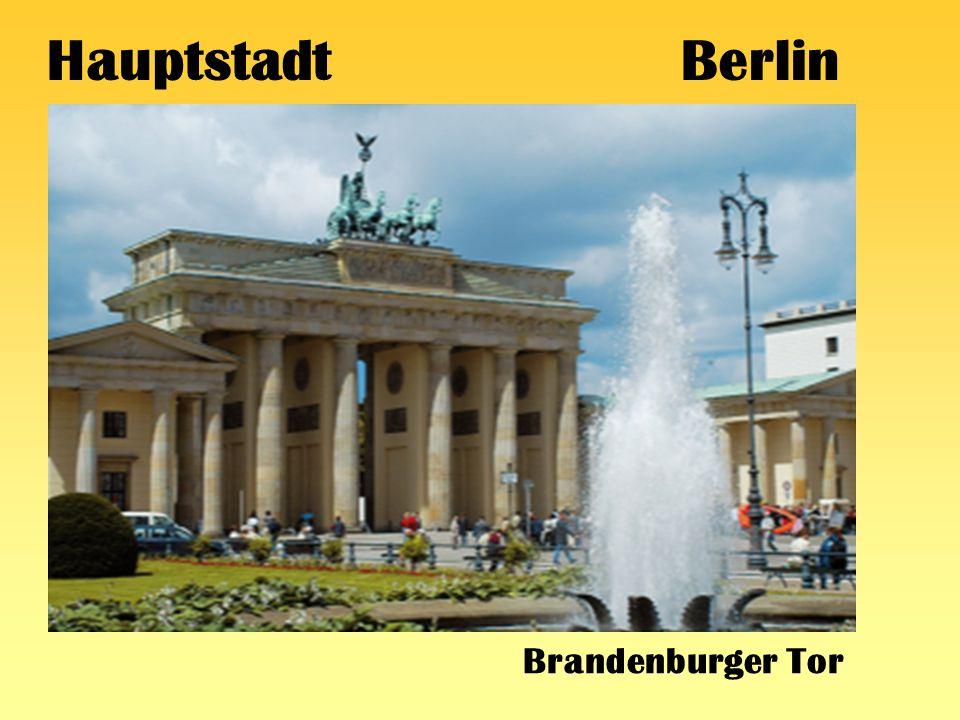 Hauptstadt Berlin Brandenburger Tor