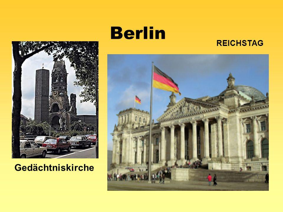 Reichstag Gedächtniskirche