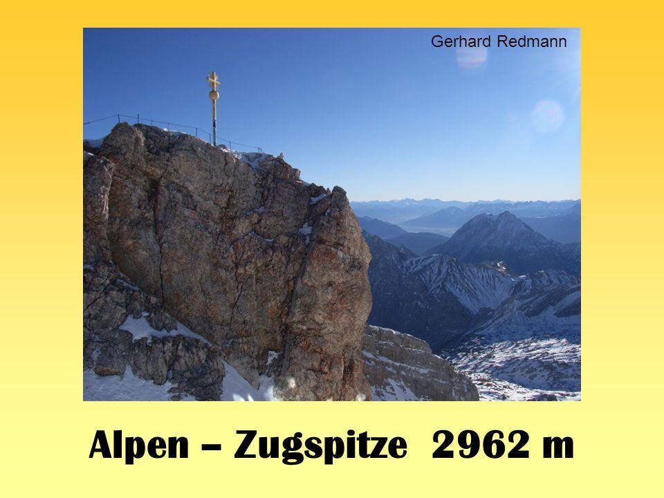 Gerhard Redmann Alpen – Zugspitze 2962 m