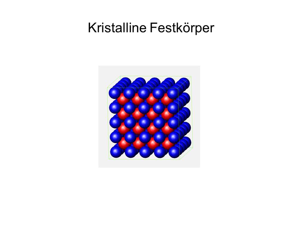 Kristalline Festkörper