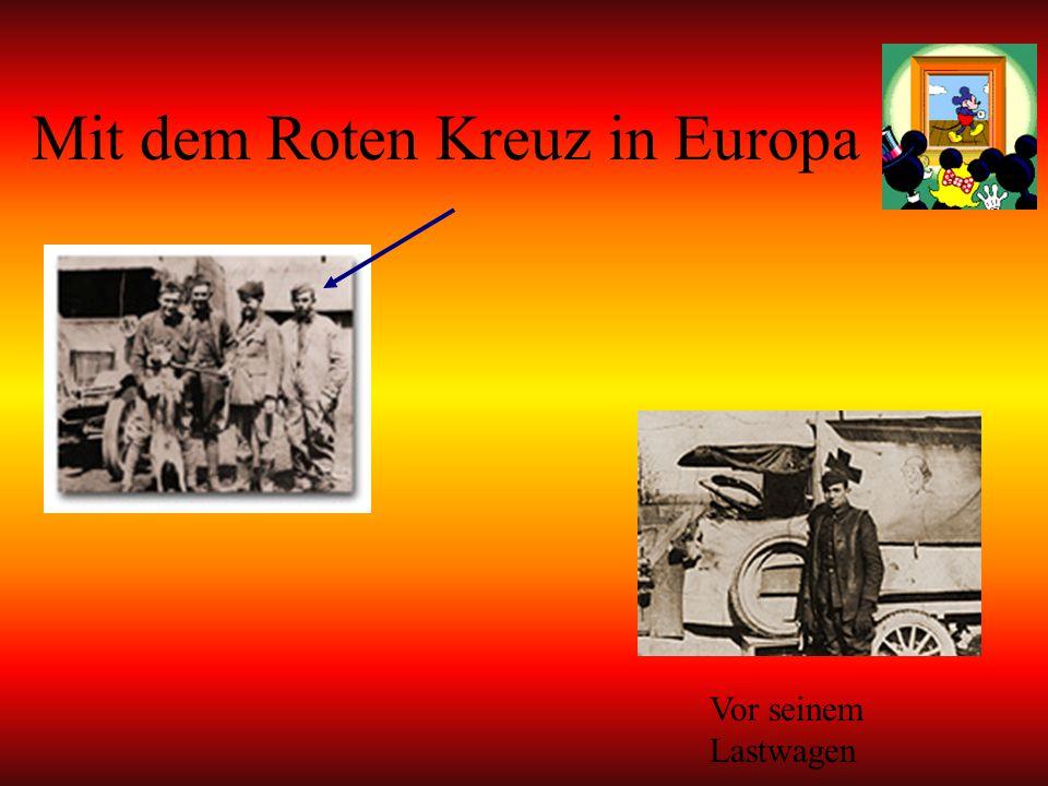 Mit dem Roten Kreuz in Europa