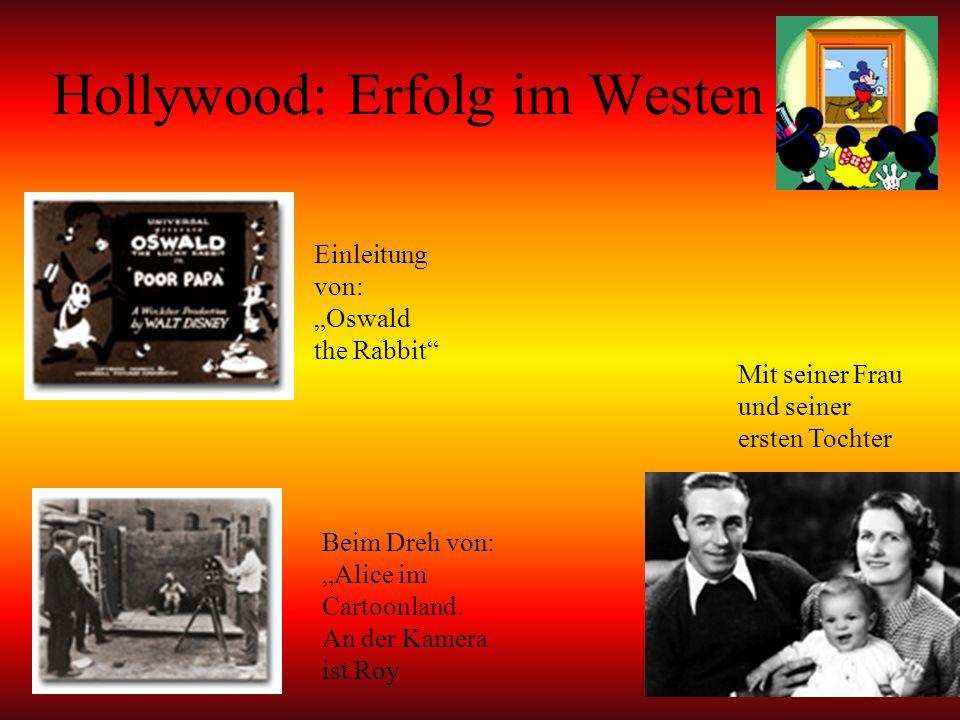 Hollywood: Erfolg im Westen