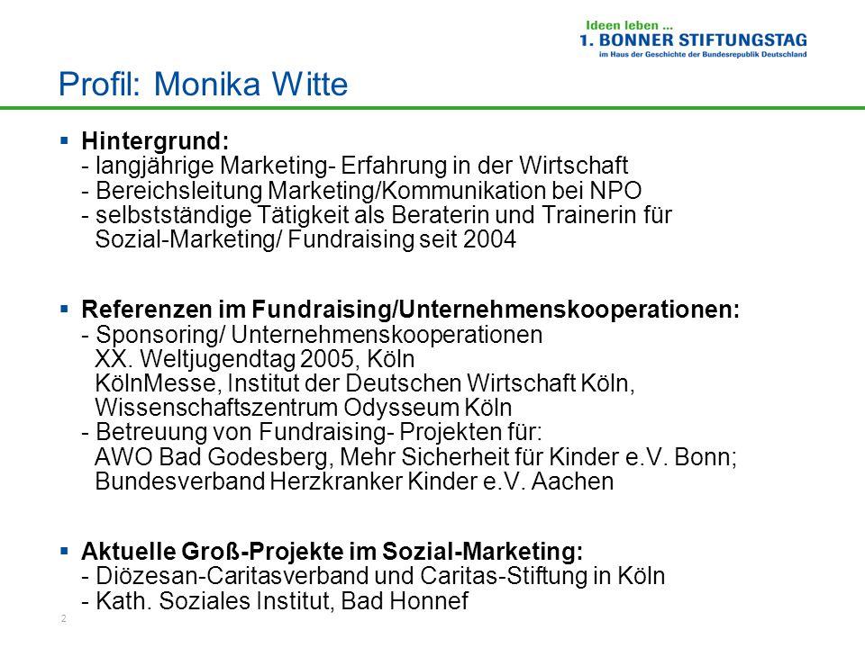 Profil: Monika Witte