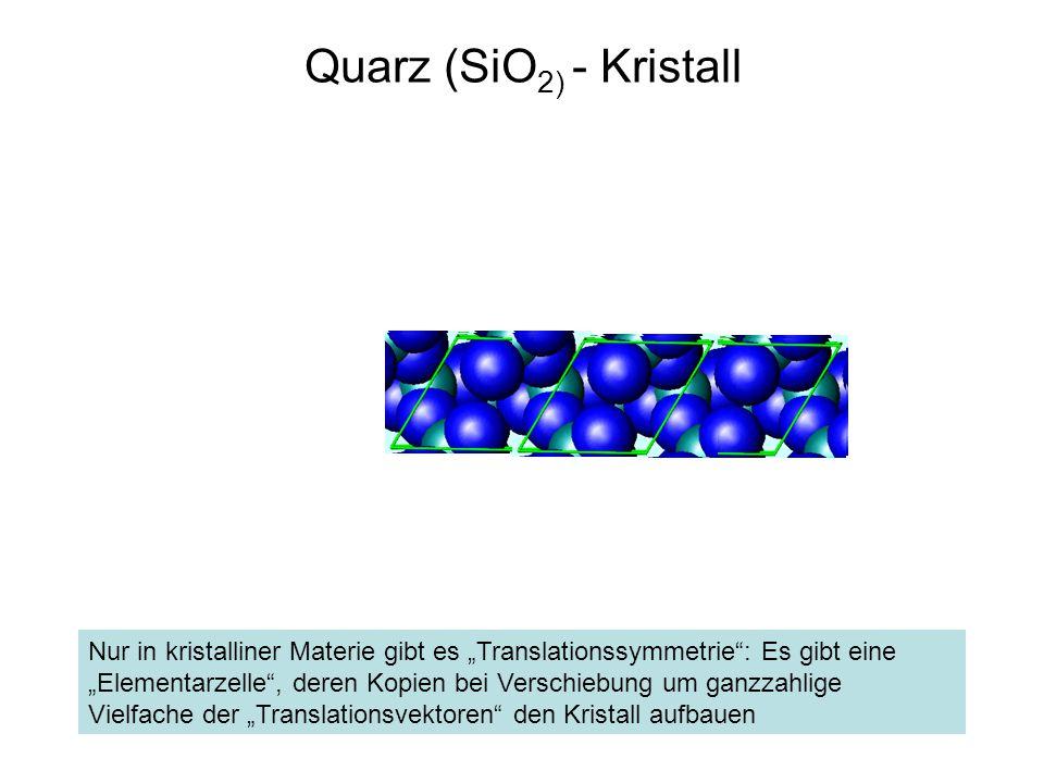 Quarz (SiO2) - Kristall