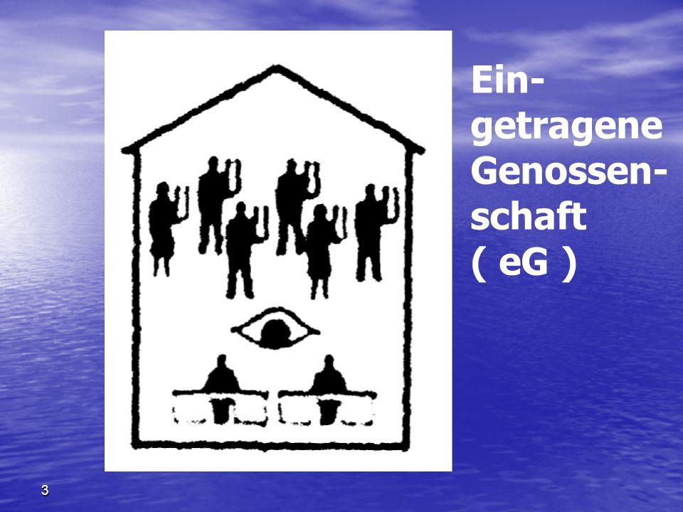 Ein- getragene Genossen- schaft ( eG ) 3