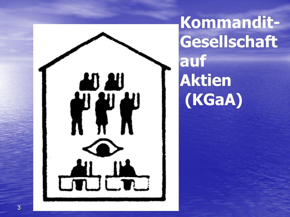 Kommandit- Gesellschaft auf Aktien (KGaA) 3