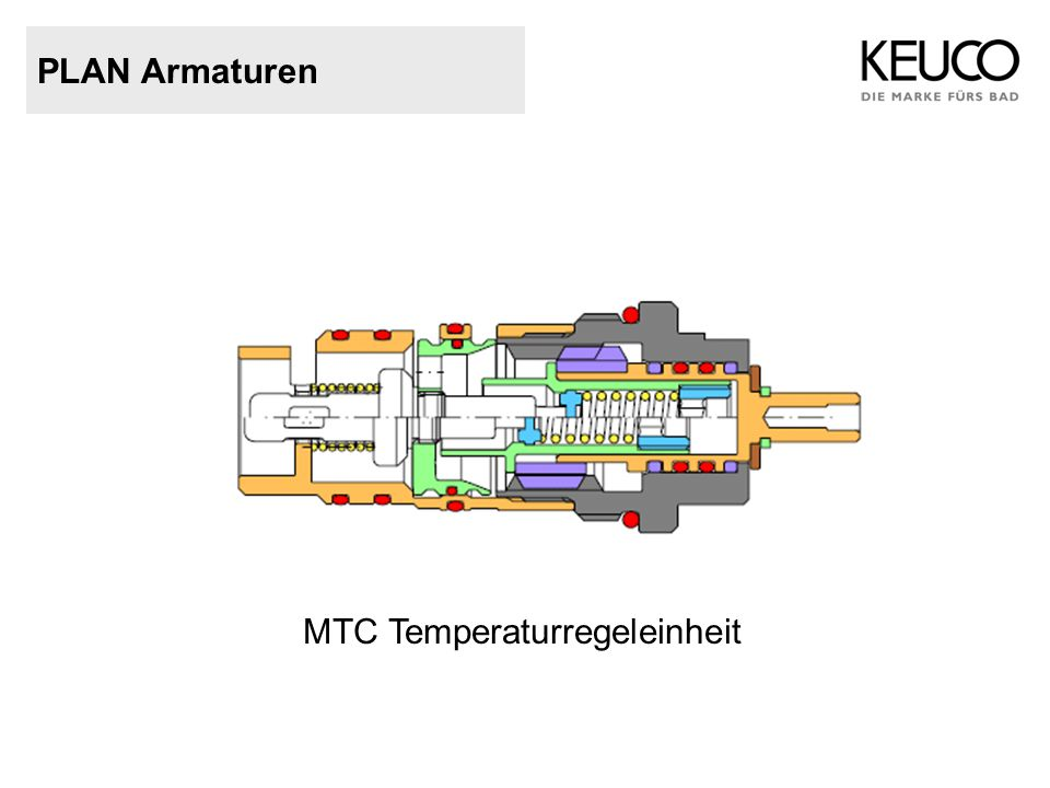 PLAN Armaturen MTC Temperaturregeleinheit