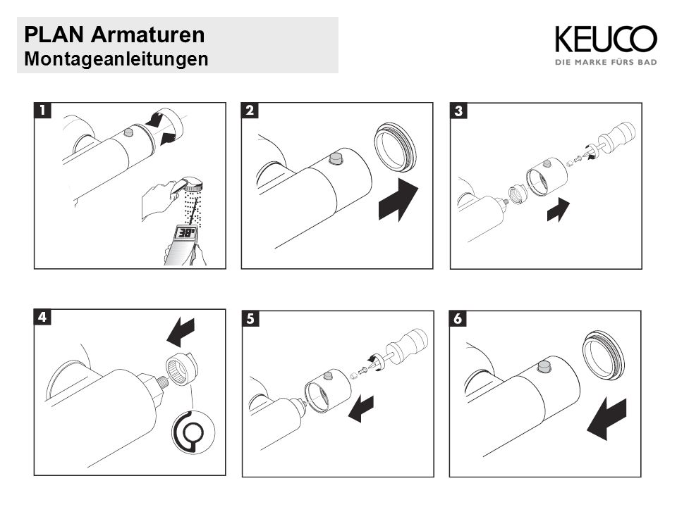 PLAN Armaturen Montageanleitungen
