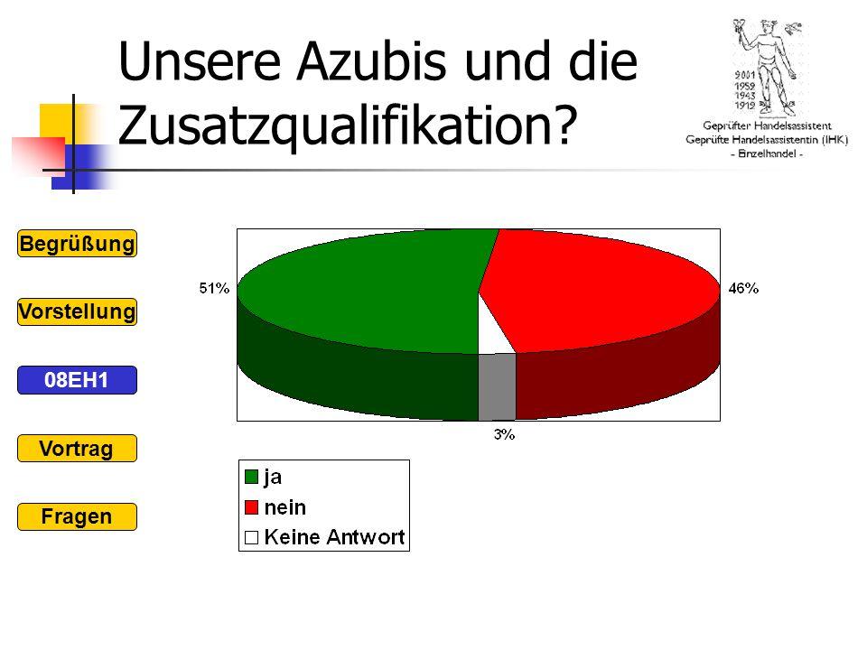 Unsere Azubis und die Zusatzqualifikation