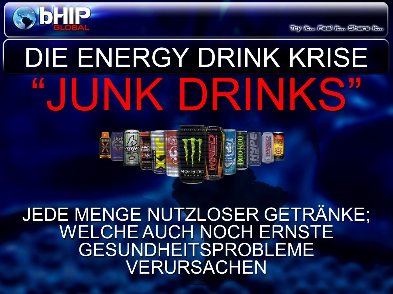 JUNK DRINKS DIE ENERGY DRINK KRISE