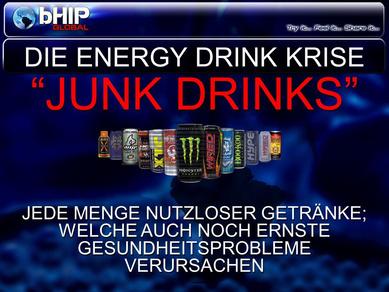 JUNK DRINKS DIE ENERGY DRINK KRISE