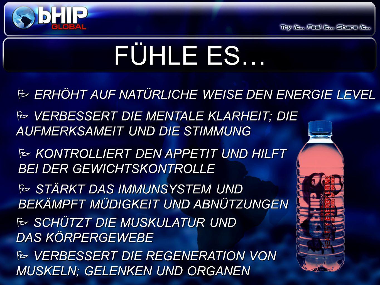 FÜHLE ES… ERHÖHT AUF NATÜRLICHE WEISE DEN ENERGIE LEVEL
