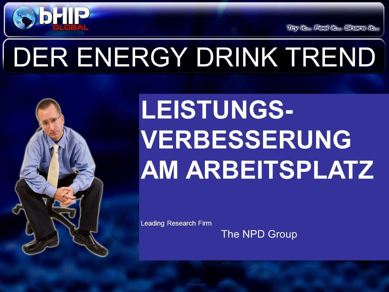 DER ENERGY DRINK TREND LEISTUNGS-VERBESSERUNG AM ARBEITSPLATZ