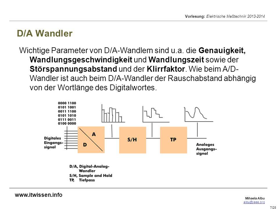 D/A Wandler