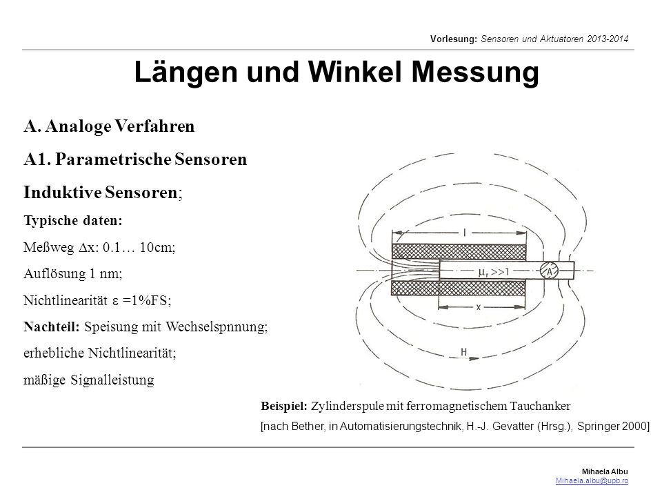 Längen und Winkel Messung
