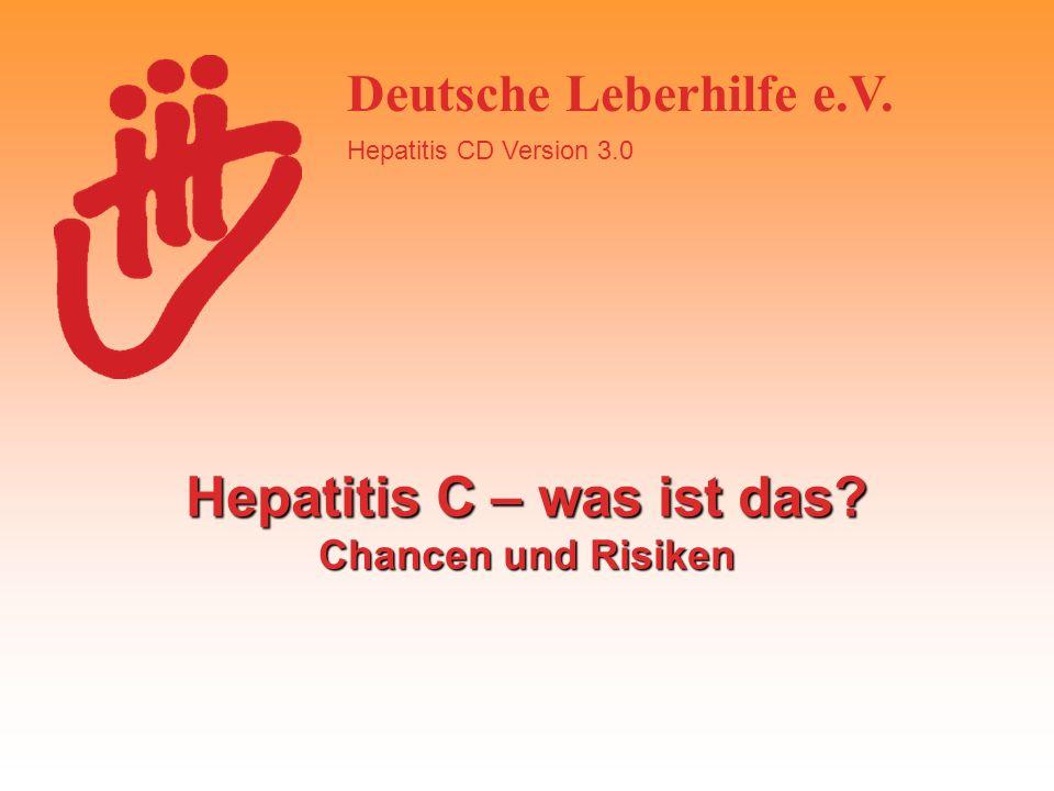 Hepatitis C – was ist das Chancen und Risiken