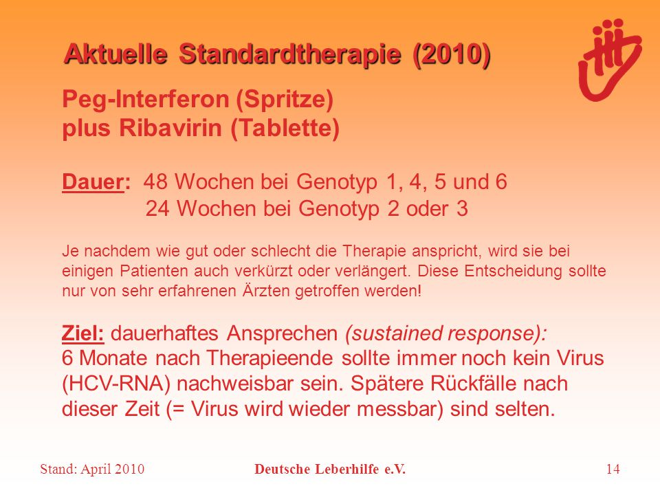 Aktuelle Standardtherapie (2010)
