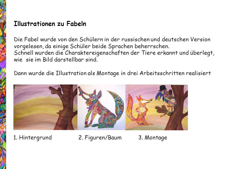 Illustrationen zu Fabeln
