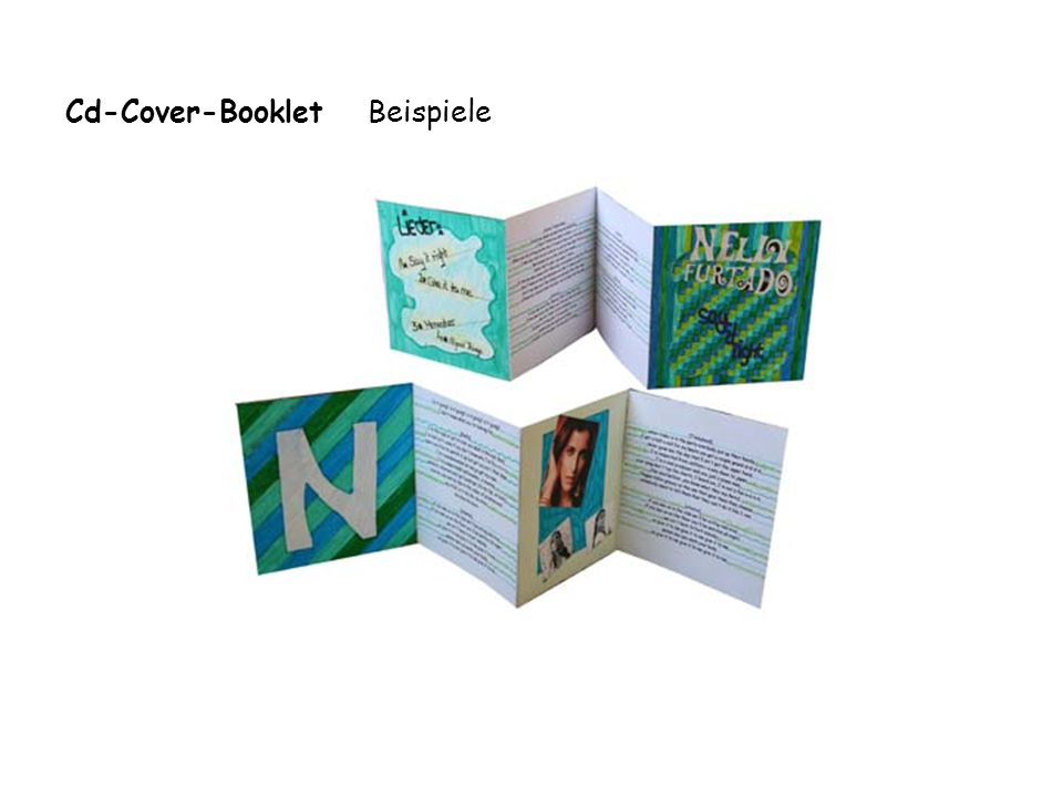 Cd-Cover-Booklet Beispiele