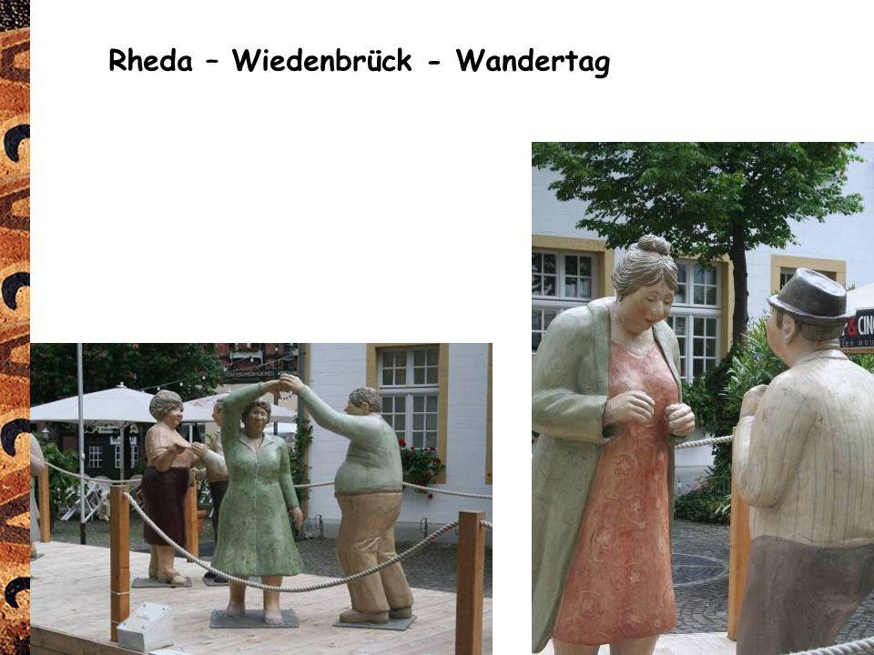 Rheda – Wiedenbrück - Wandertag