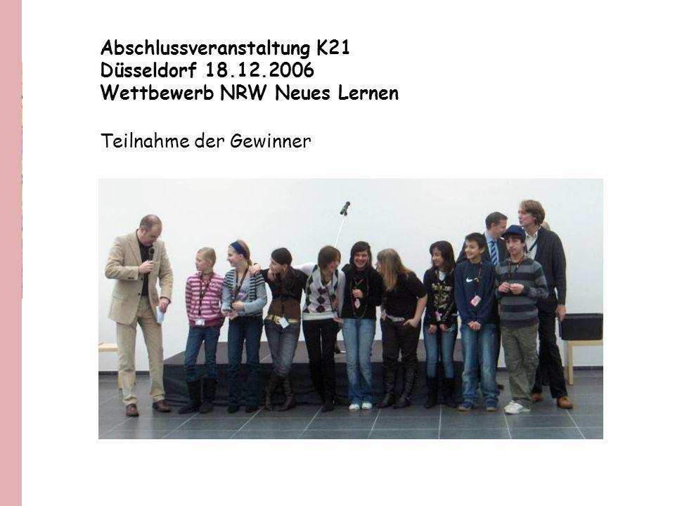 Abschlussveranstaltung K21