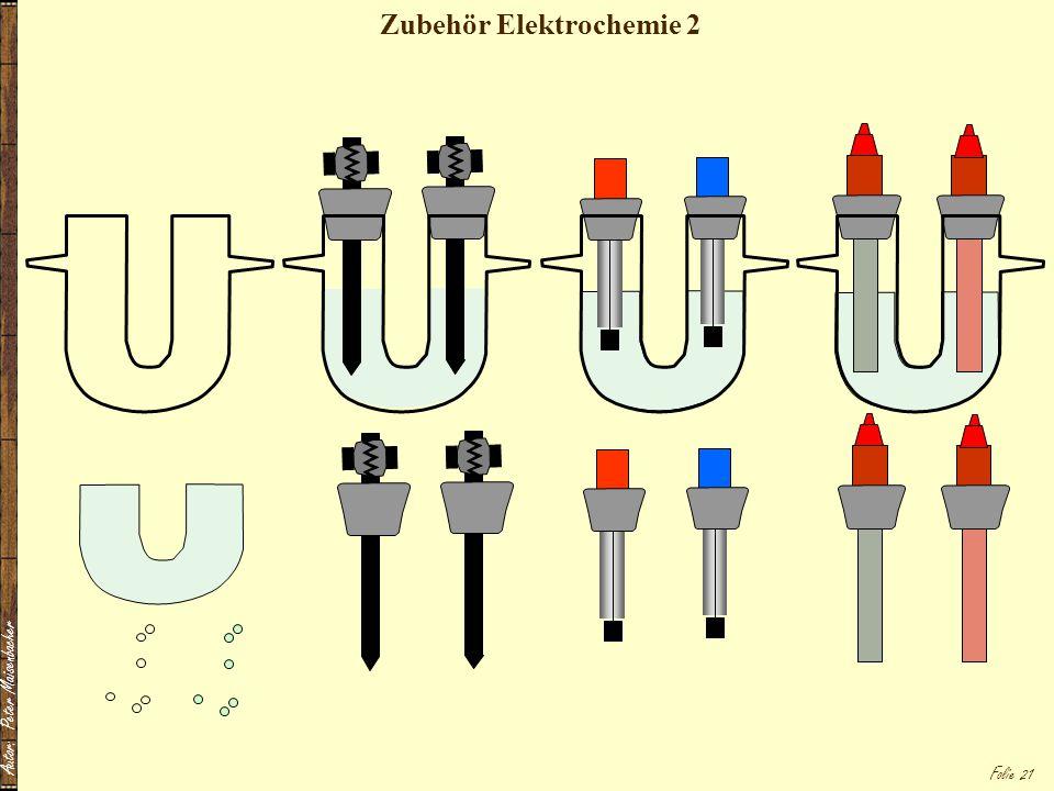 Zubehör Elektrochemie 2