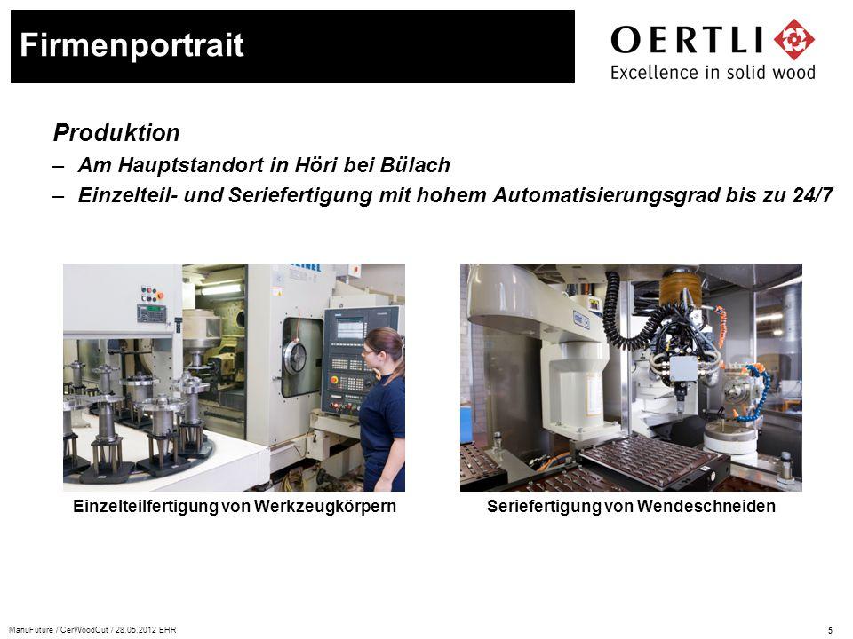 Firmenportrait Produktion Am Hauptstandort in Höri bei Bülach
