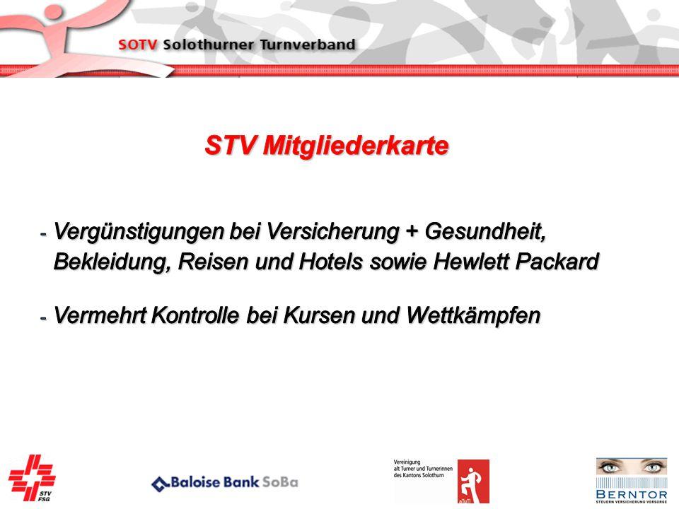 STV Mitgliederkarte Vergünstigungen bei Versicherung + Gesundheit,