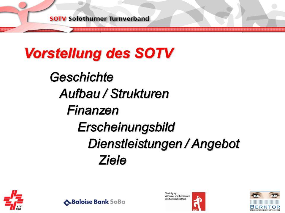 Vorstellung des SOTV Geschichte Aufbau / Strukturen Finanzen
