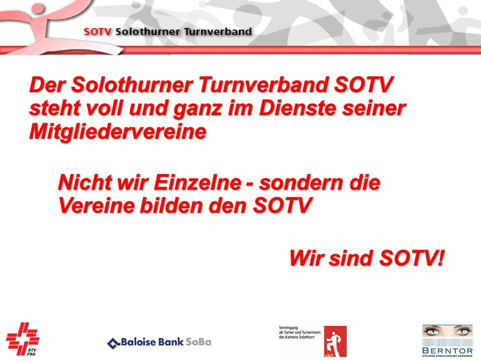 Der Solothurner Turnverband SOTV steht voll und ganz im Dienste seiner Mitgliedervereine