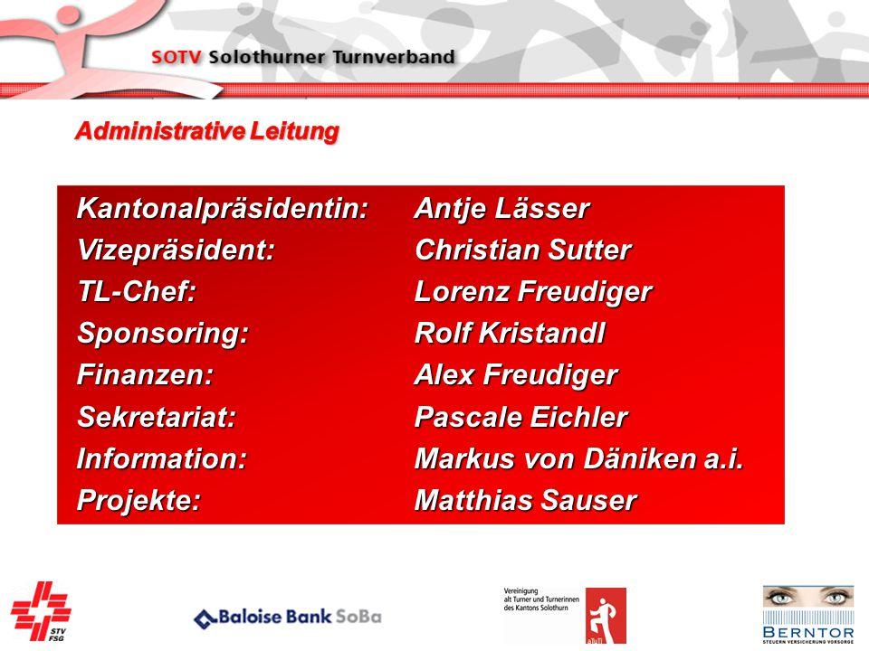Kantonalpräsidentin: Antje Lässer Vizepräsident: Christian Sutter