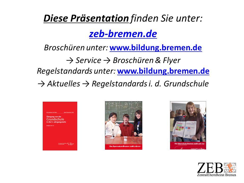 Diese Präsentation finden Sie unter: zeb-bremen.de