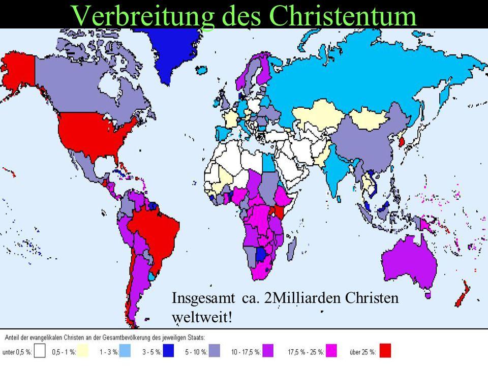 Verbreitung des Christentum