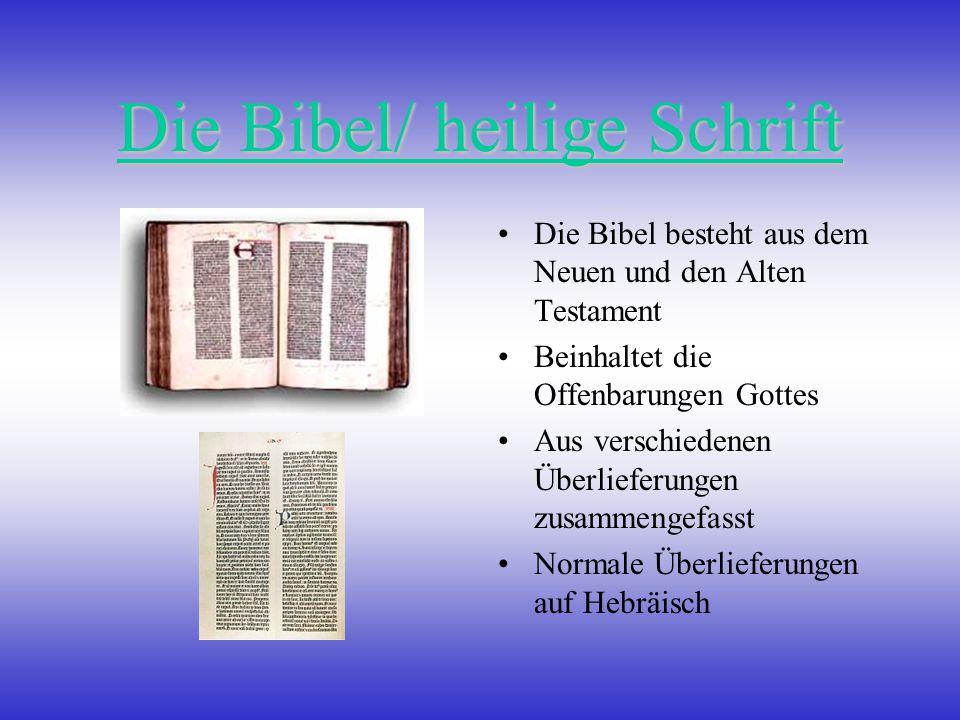 Die Bibel/ heilige Schrift