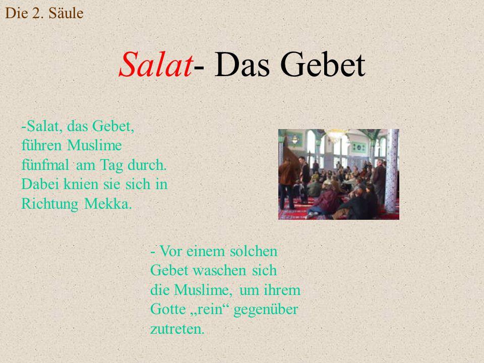 Salat- Das Gebet Die 2. Säule