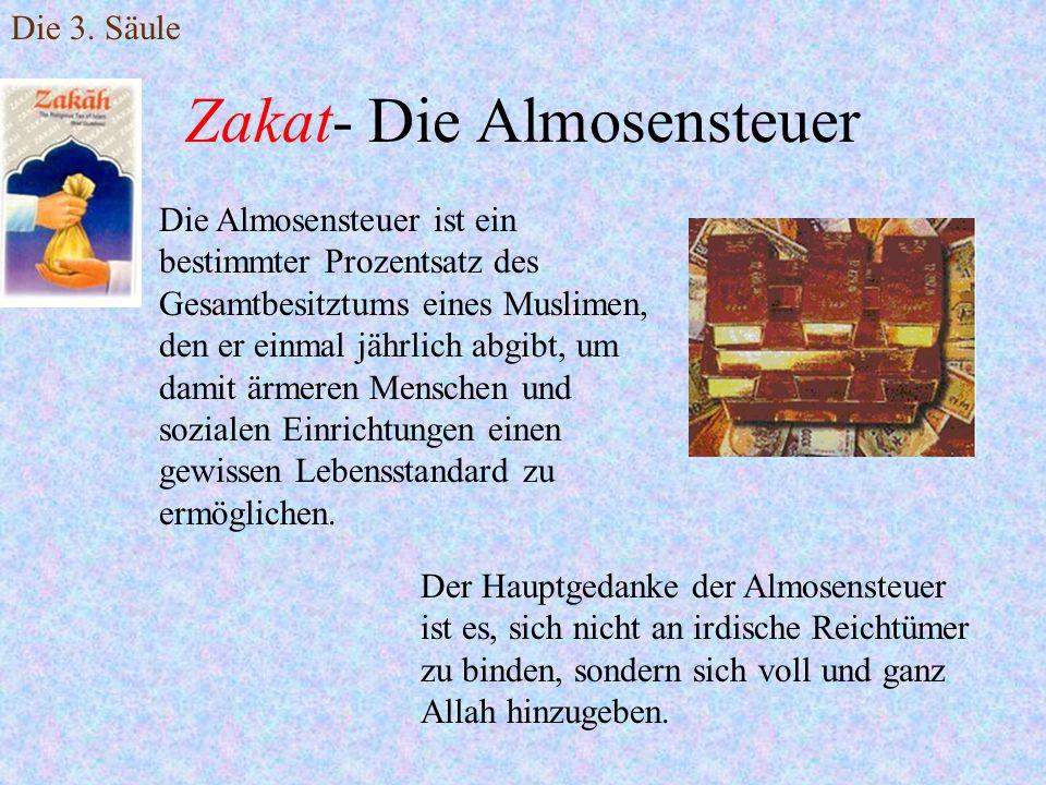 Zakat- Die Almosensteuer