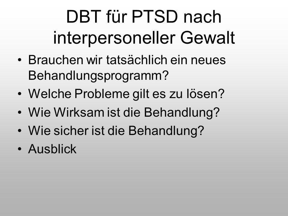 DBT für PTSD nach interpersoneller Gewalt