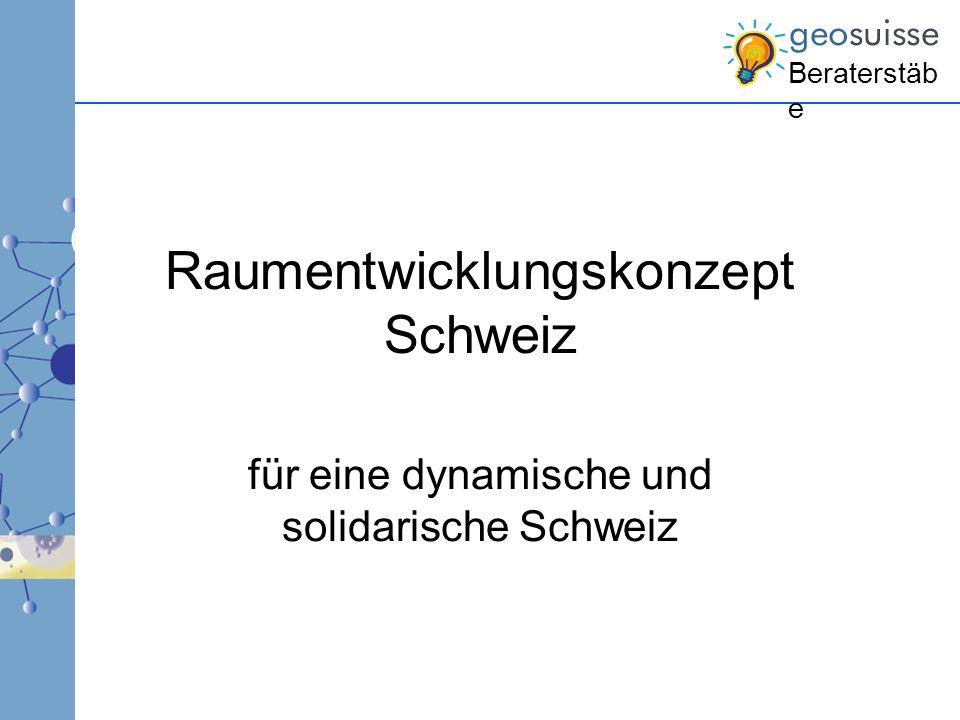 Raumentwicklungskonzept Schweiz