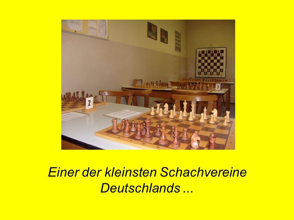Einer der kleinsten Schachvereine Deutschlands ...