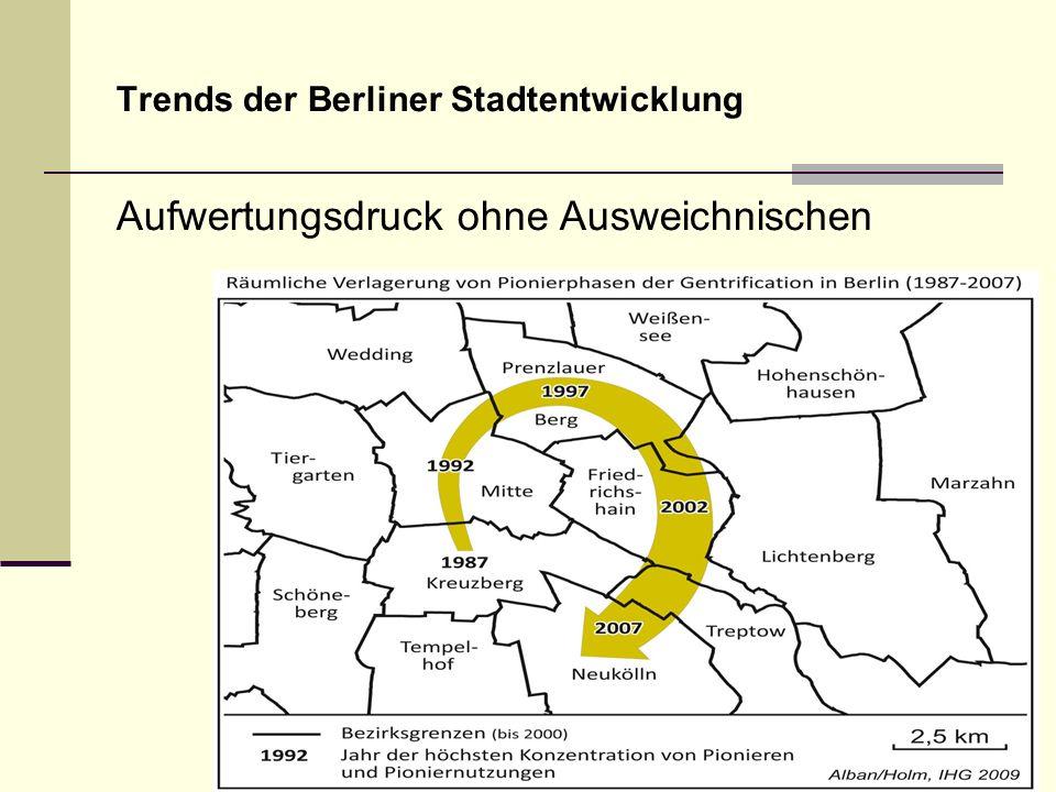 Trends der Berliner Stadtentwicklung