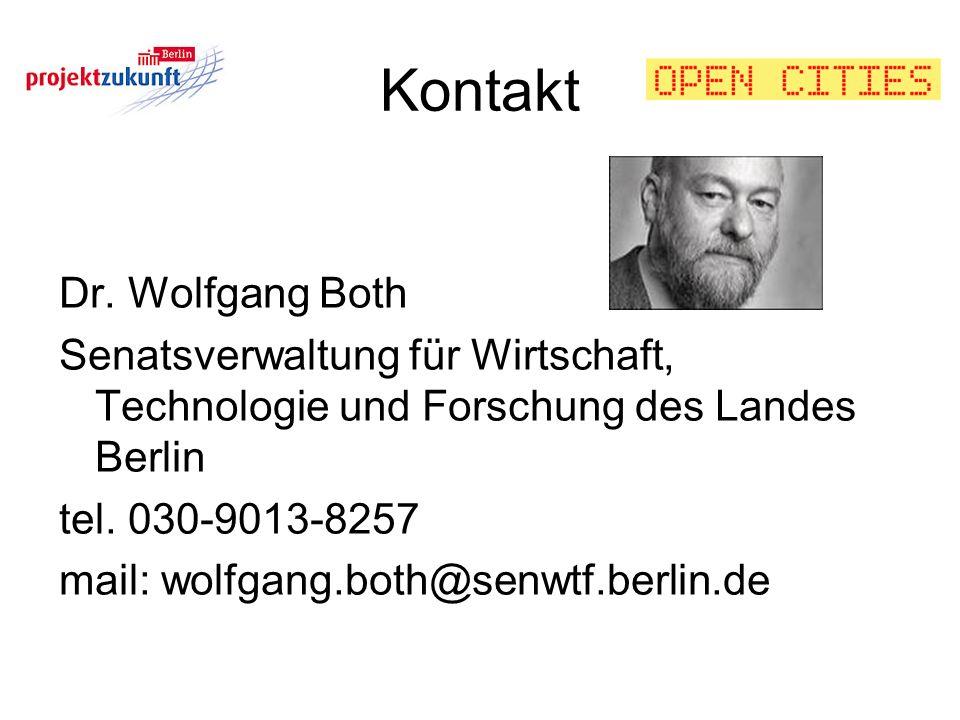 Kontakt Dr. Wolfgang Both