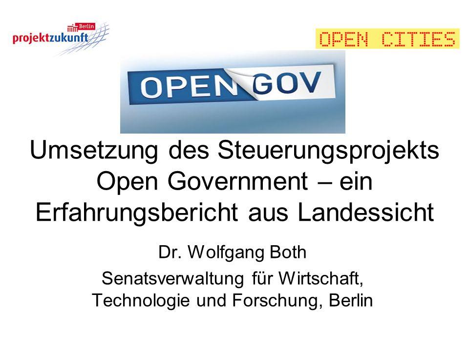 Senatsverwaltung für Wirtschaft, Technologie und Forschung, Berlin