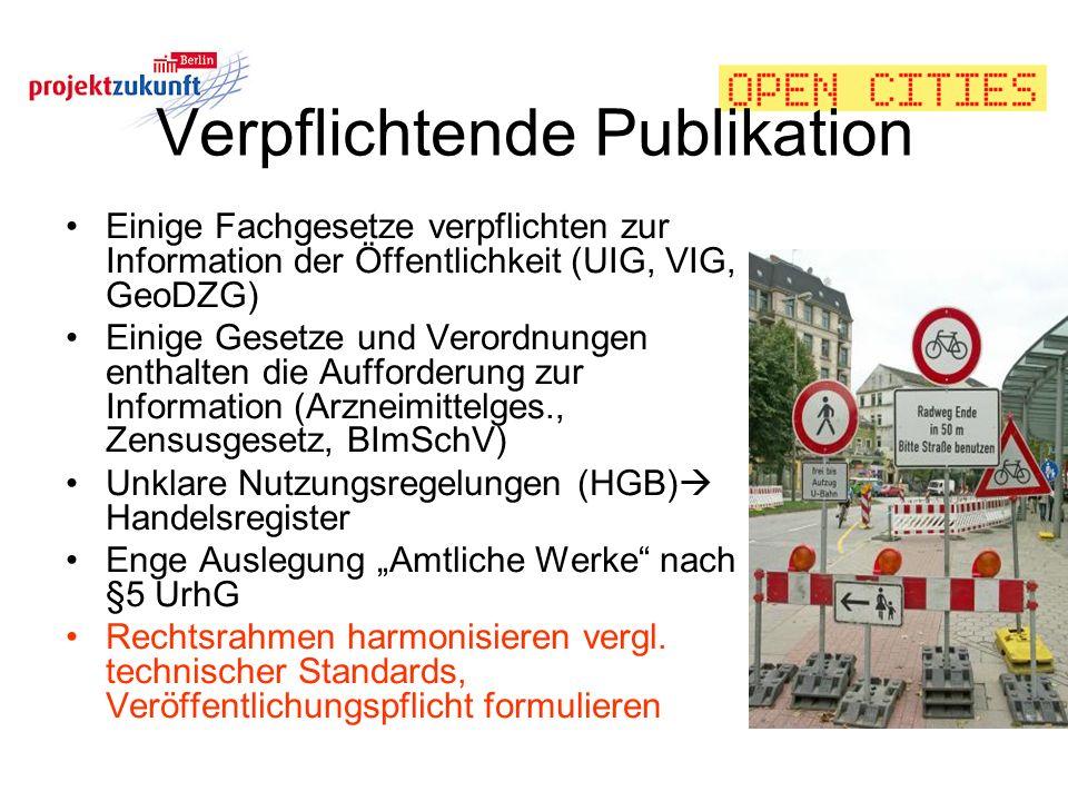 Verpflichtende Publikation
