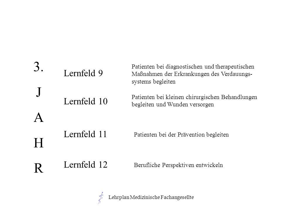 Lehrplan Medizinische Fachangesellte