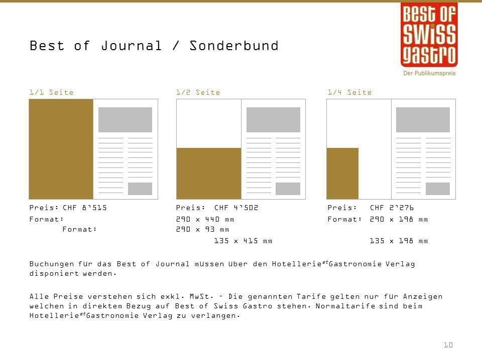 Best of Journal / Sonderbund