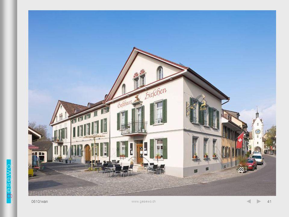 Fassade Restaurant 0610/wan