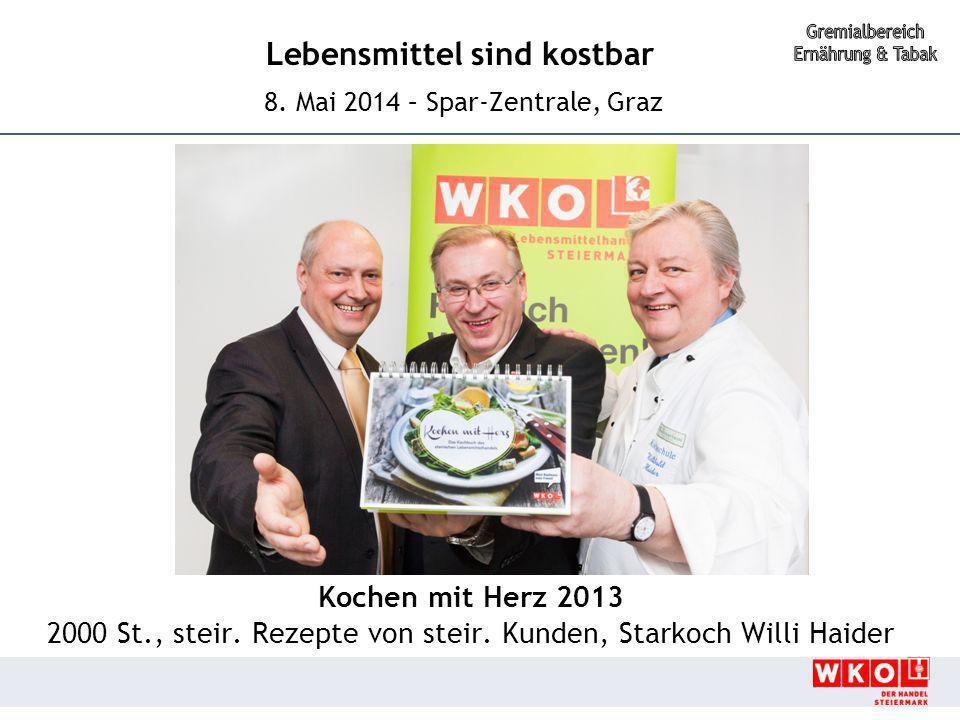 2000 St., steir. Rezepte von steir. Kunden, Starkoch Willi Haider