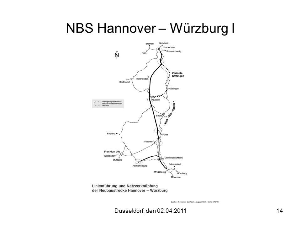 NBS Hannover – Würzburg I