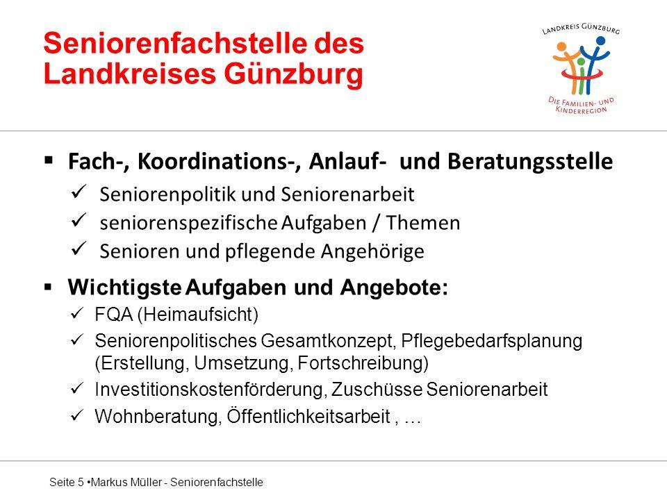 Seniorenfachstelle des Landkreises Günzburg