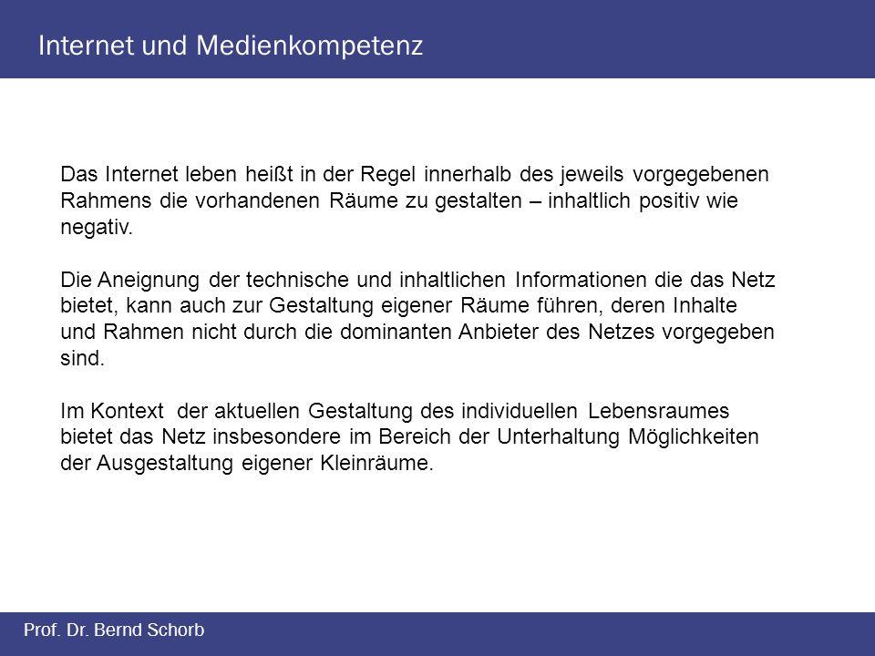 Internet und Medienkompetenz